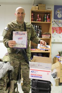 Express Your Gratitude to Our Troops & Post Your Messages! Your messages will be included with care packages put together and shipped by @Cindy Lehman Gratitude to brave men and women of the U.S. Military serving overseas!