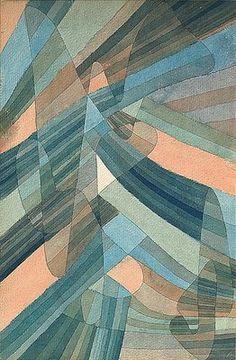 Les courants polyphoniques, par Paul Klee - 1929