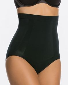 7ce7fd77d33 Oncore High-Waisted Brief - Very Black - 1X Shapewear Best, Shapewear For  Wedding. spanx.com