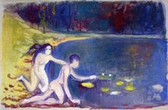 The Water Lilies ~ Edvard Munch