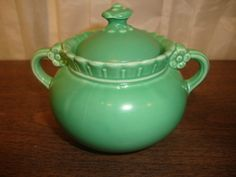 vintage vistosa sugar bowl by taylor smith and taylor