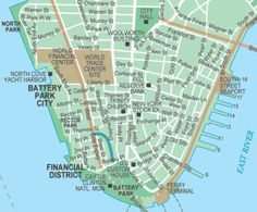 Printable Map of Manhattan The International House is just to the