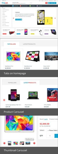 33 Best OpenCart Themes images in 2017 | Responsive slider