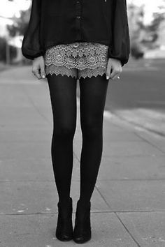 Lace shorts 4 winter