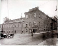 Hörnet av Götgatan 1 och Hornsgatan Gothenburg, Stockholm Sweden, Vintage Photographs, Old Photos, The Past, Environment, Louvre, Architecture, Building