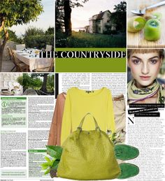 """""""the countryside."""" by dorc ❤ liked on Polyvore"""