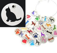 Handmade Burmese Cat Sterling Silver Necklace Pendant Charm, available in over a dozen colors.