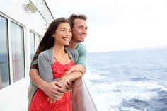 Picture of Cruise ship couple romantic enjoying travel on boat embracing looking at view. Happy lovers traveling on vacation sailing on open sea ocean enjoying romance. Young Asian woman and Caucasian man. stock photo, images and stock photography. Tumblr New York, Teen Couple Pictures, Cities, What Women Want, Teen Couples, Games For Teens, India, Cruise Travel, Travel Couple