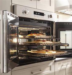 "ZET1FHSS - Monogram 30"" Professional French-Door Electronic Convection Single Wall Oven | Monogram Appliances"