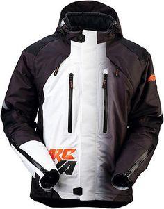 #apparel Arctiva Mechanized S6 Insulated Snowmobile Jacket Black/Orange please retweet