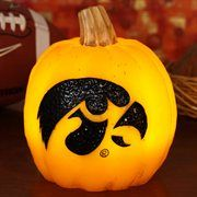 iowa hawkeye tattoo | Iowa Hawkeyes Wax Pumpkin Luminary