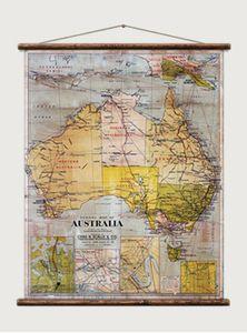 Australia Shool Map