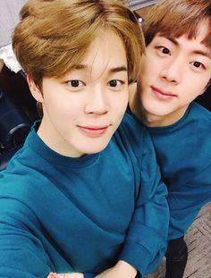 BTS SeokJin (Jin) and Jimin