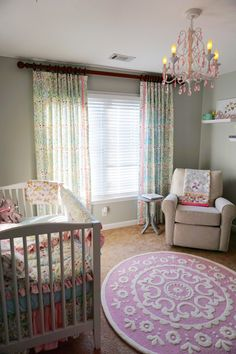 Floral Love Birds Nursery