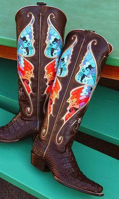 Rocketbuster Boots ~ Cassidy Magazine™