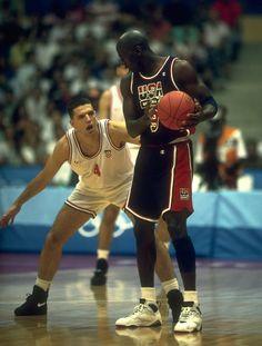 Dražen Petrović & Michael Jordan