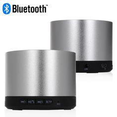Bluetooth LED Indicator Speaker - Silver Smartphone Speaker for iPhone & Samsung #bluetooth #led #speaker #silver #smartphone #speakers #iphone #samsung $20.48 Best Speakers, Bluetooth, Smartphone, Samsung, Led, Iphone, Silver, Money