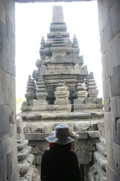 """""""The temple compound, a UNESCO World Heritage Site, is the largest. World Heritage Sites, Temple, Travelling, Temples"""