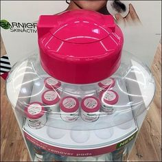 Garnier Misceliar Water Museum Case Bottle Top
