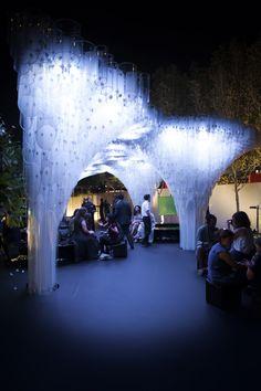 BVLGARI Pavilion at Abu Dhabi Art  2012 by NaNA , via Behance