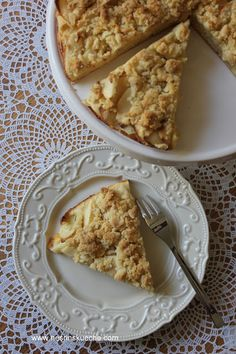 NESRiN`S KÜCHE: Omas Kuchen 2: Apfel-Streuselkuchen