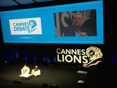 #Cannes Debate with Sir Martin Sorrell and Al Gore #mwgcannes #CannesLions #CannesLions2015 #McCannes2015