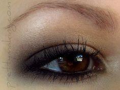 Matte and natural eye