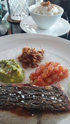 1st day working - had lunch at The Restaurant by The Legian Bali - Seminyak. Leading Hotels Worldwide. Legian Hotel Management.