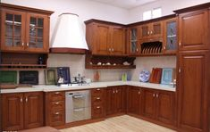 Những mẫu tủ bếp gỗ tự nhiên đơn giản mà đẹp