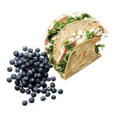 Breakfast idea: greens eggs and ham quesadillas