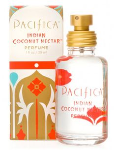 Indian Coconut Nectar Spray Perfume Pacifica's Indian Coconut Nectar is a sensuous and delicious blend inspired by travels to faraway destinations. This warm, sultry blend of coconut and delicate creamy vanilla is pure ambrosia. Pacifica Perfume, Pacifica Beauty, Natural Essential Oils, Natural Oils, Au Natural, Natural Beauty, Vegan Beauty, Parfum Spray, Body Spray