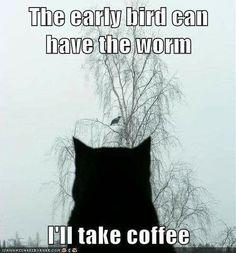 Fuck the worm...I'll take coffee