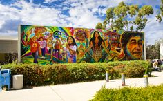 UC San Diego is unveiling a Chicano history mural by world-renowned San Diego-based artist Mario Torero.