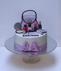 Handbag with cosmetics by Bezana