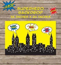 Free Superhero Party Printables   A to Zebra Celebrations