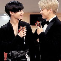 Jimin & Taemin Gif❤❤❤ Esas sonrisas