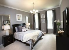 Gray Master Bedroom Paint Color Ideas | Master bedroom | Pinterest ...