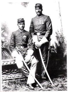 Buffalo Soldiers Black Americana Ninth Cavalry Troop C 1891