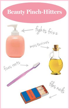 Fix beauty emergencies with these household products you already own!