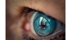 Proof of concept could create electronic displays on contact lenses - Taking augmented reality to the next level #contactlens #tech #AR #augmentedreality