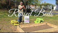 HD How to Build a Raised Garden Bed for under 30 Dollars