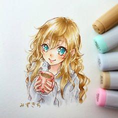 艦これワンドロ1本勝負で描いた #能代 ちゃんです(*`・ω・)ゞ  コーヒータイム中の能代ちゃん☕ 上目遣いにしてみました!! 一時間は早い。。。ペン入れまで40分使った(;´Д`A 色塗りが雑になります(。 ・`ω・´) キラン☆  #イラスト#drawing#draw#illustration#illust#お絵描き#落書き#art#sketch#みずきち#コピック#Copicart#otaku#animedrawing#instaartist #艦これ#ワンドロ#コーヒータイム#kankore