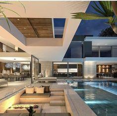 Enhance Your Senses With Luxury Home Decor Dream House Interior, Luxury Homes Dream Houses, Dream Home Design, Modern Mansion Interior, Best Home Design, Luxury Interior, Dream Homes, Modern Villa Design, Contemporary Design