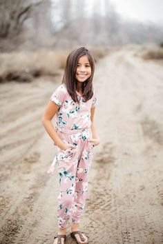747087f4571 This floral jumpsuit romper is the perfect outfit for any little  fashionista.  jumpsuitsrompers