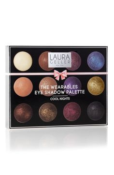 Gushing over these lovely Laura Geller eyeshadows. This is the perfect palette!