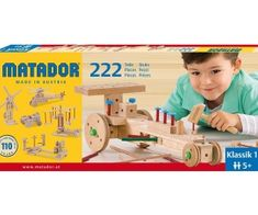 This set contains 222 Matador Classic parts, including tools and bu Organic Baby Toys, Computer Chip, Little Duck, Take Apart, Build Something, Wooden Blocks, Austria, Toy Chest, Storage Chest