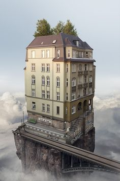 Artist Erik Johansson is skilled in both photography and photo manipulation. He cites Dali, Magritte and Escher among his inspirations. Erik sells these wonderful creations as prints through his website.