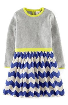 <3 Mini Boden 'Colourful' Knit Dress (Toddler Girls, Little Girls & Big Girls) available at #Nordstrom