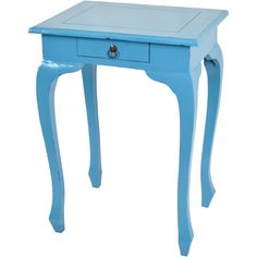 JOSS AND MAIN Baby Blue Side Table