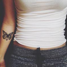 Butterfly on forearm, next tattoo idea